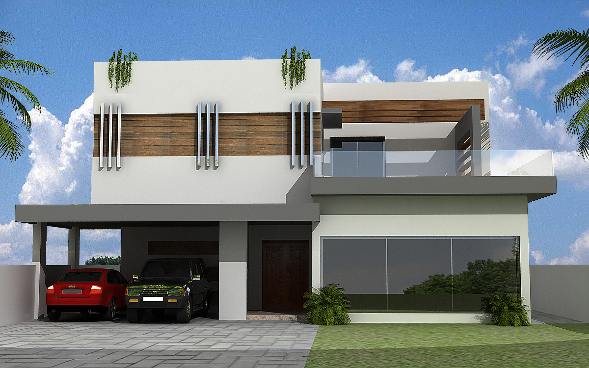 Pics Photos 3d Front Elevation New 3d Home Design House Home Contemporary M