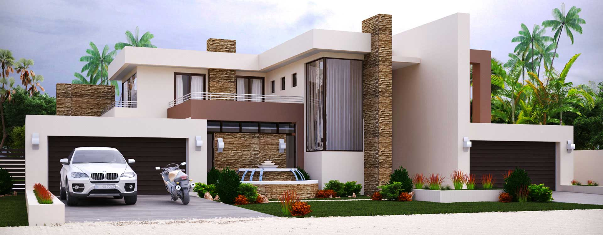 modern architectural drawings in pakistan