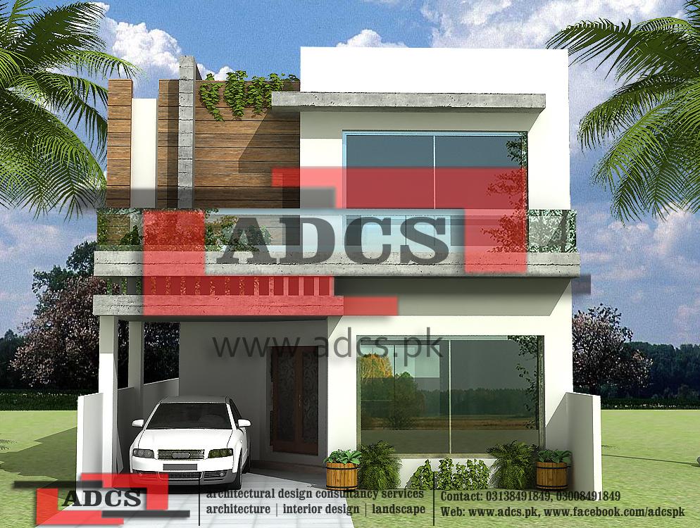 5 Marla House Design (Modern)