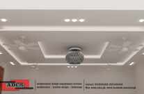 Gym (False Ceiling Design)